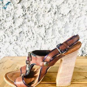 MIU MIU by Prada Jewelled High Heel Sandal